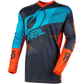 O'Neal Element Jersey Heren, gray/orange/blue